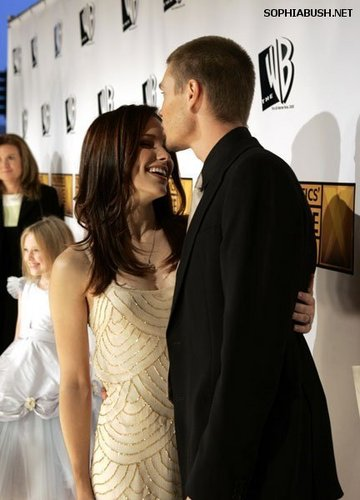 Sophia بش and Chad Michael Murray at The Critics Choice Awards