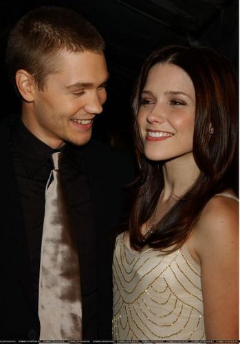 Sophia Bush and Chad Michael Murray at The Critics Choice Awards