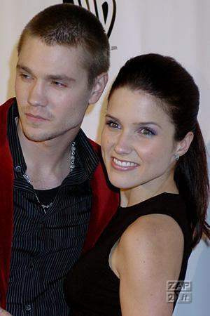 Sophia بش and Chad Michael Murray at the The WB 2005 All سٹار, ستارہ Party