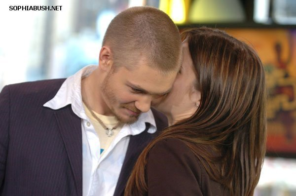 Sophia Bush and Chad Michael Murray on TRL