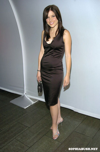 Sophia buisson, bush at The WB Upfront Afterparty