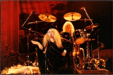 stevie nicks wallpaper containing a baterista and a show, concerto called Stevie Nicks
