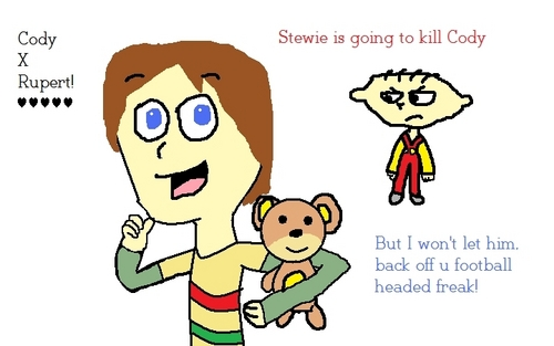 Stewie is sooo jealous!
