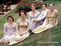 The Bennet Daughters - pride-and-prejudice-1995 wallpaper