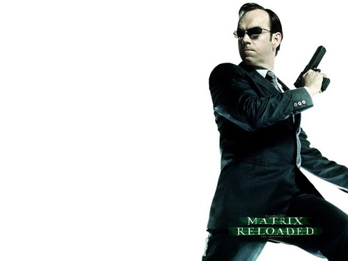 The Matrix Agent Smith 壁紙