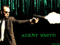 The Matrix Agent Smith kertas dinding