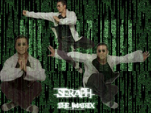 The Matrix, Seraph Обои