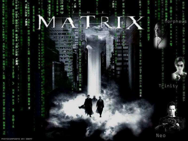 the matrix wallpaper. The Matrix Wallpaper