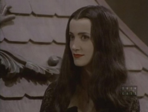 A pretty picture of Morticia