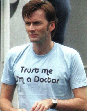 Trust Me, I'm a Doctor!!! :D - david-tennant Photo