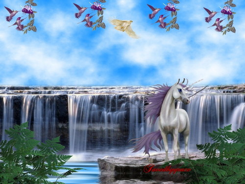 unicorni wallpaper titled Unicorn wallpaper