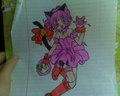 mew strawberry drawing - tokyo-mew-mew fan art