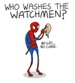 poor widdle guy - spider-man fan art