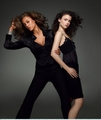 tyra and nicole - antm-winners photo