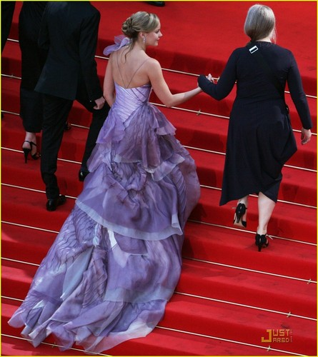 Abbie at the 2009 Cannes Film Festival