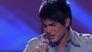 "Adam singing ""One"" - american-idol Screencap"