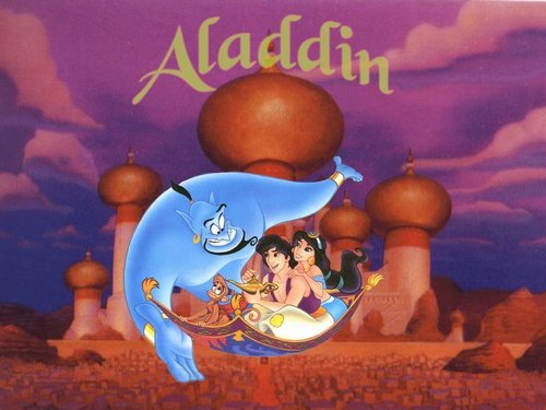 Aladdin wallpaper probably containing an easter egg and anime entitled Aladdin Wallpaper