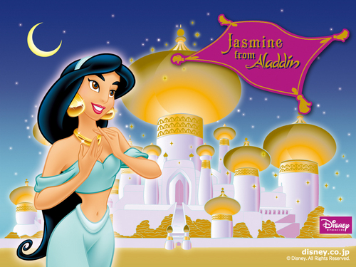 Aladdin wallpaper possibly containing anime entitled Aladdin Wallpaper