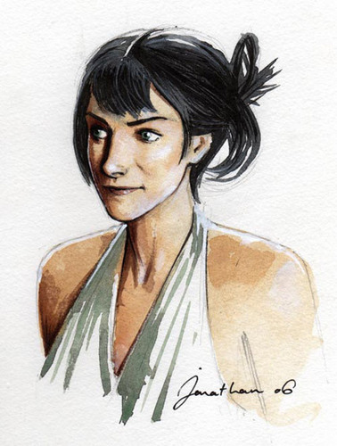 Amanda Peet's Portrait