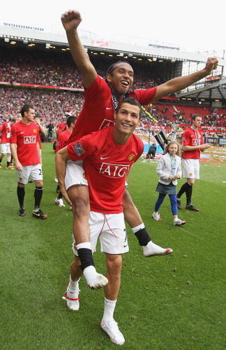 Anderson and Ronaldo