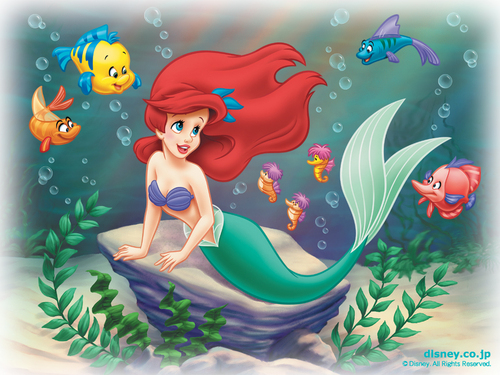 Disney Princess achtergrond probably containing anime entitled Ariel achtergrond