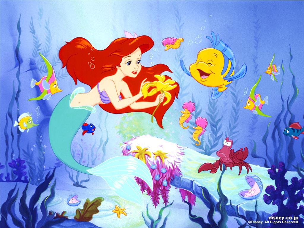 Ariel 壁紙 ディズニープリンセス 壁紙 ファンポップ