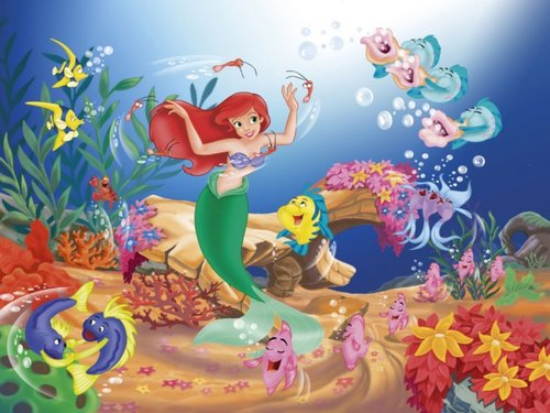 Walt Disney Hintergründe - The Little Mermaid