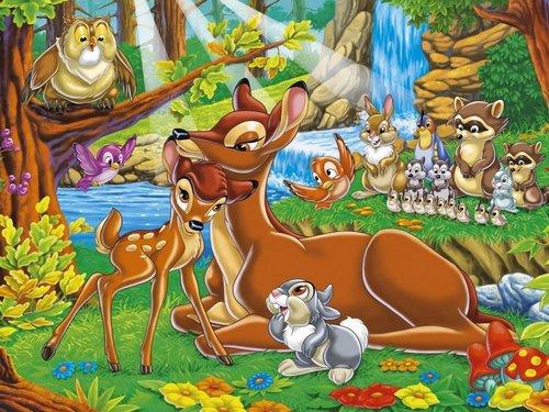 Bambi Hintergrund
