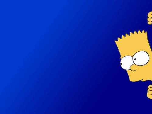 Bart Simpson Wallpaper Titled