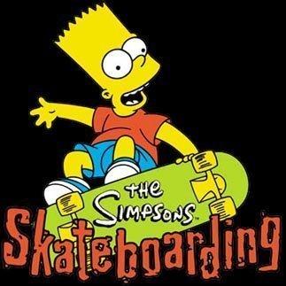 Bart's skateboard