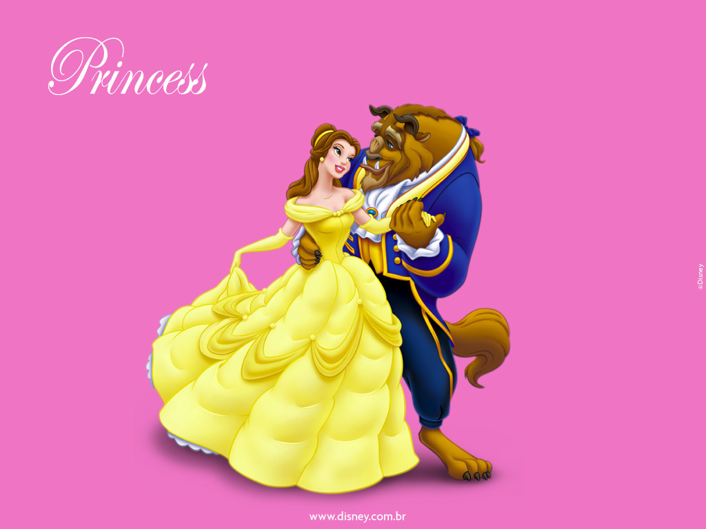 Beauty and the Beast 壁紙