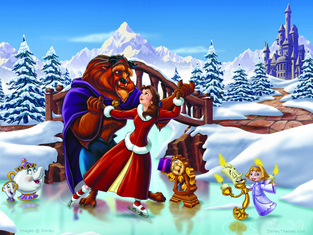 Beauty and  the beast Cartoon Picture