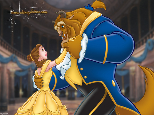 Beauty and the Beast wallpaper titled Beauty and the Beast Wallpaper