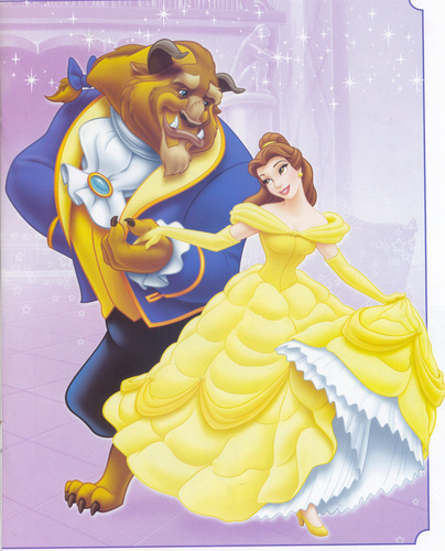 Belle and the Beast - disney-couples Photo