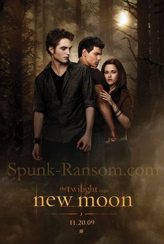 Bigger New Moon Poster