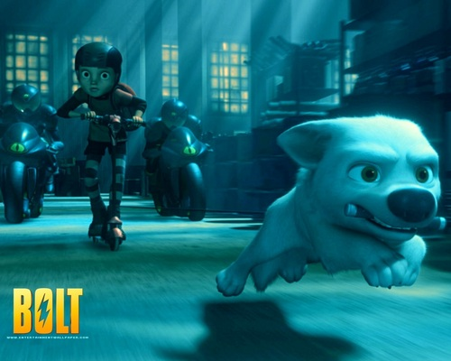 Disney's Bolt wallpaper titled Bolt Wallpapers