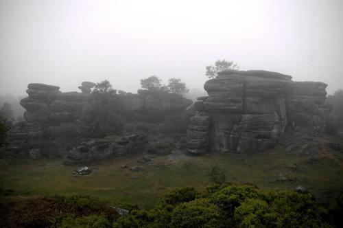 Brimham Rocks in Yorkshire