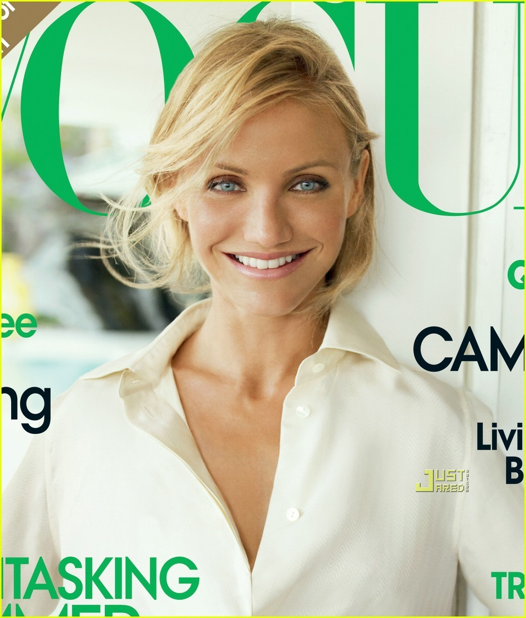 Cameron Diaz Covers Vogue June