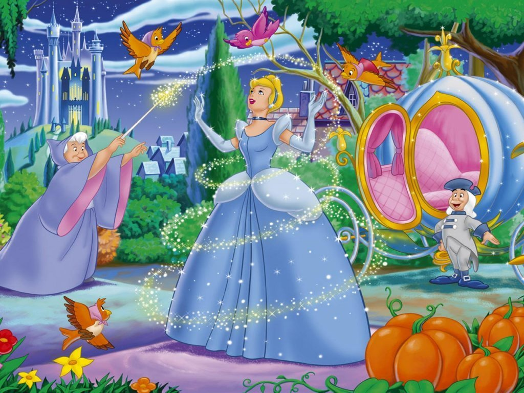 Wallpapers Cinderella-Wallpaper-disney-princess-6248828-1024-768