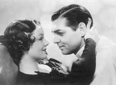 Myrna Loy and clark gable