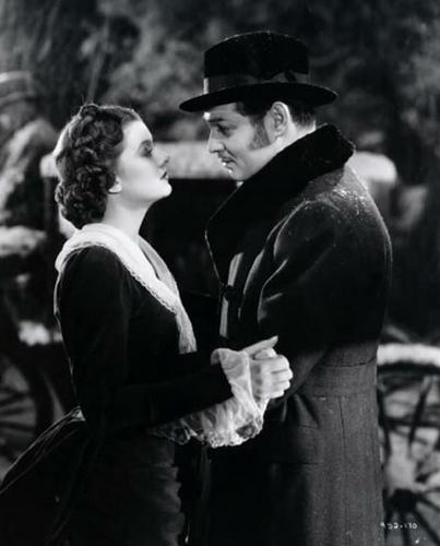 Clark Gable and Myrna Loy