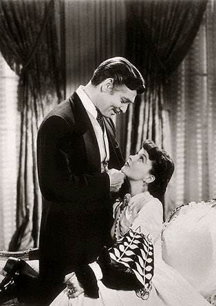 Clark Gable and Vivien Leigh