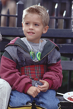 Cole and Dylan in Big Daddy {age 6 in 1999}