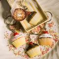 cupcake, kek cawan Keychains
