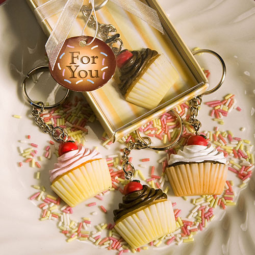 Cupcake Keychains - keychains Photo