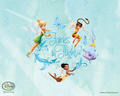 Disney Fairies پیپر وال