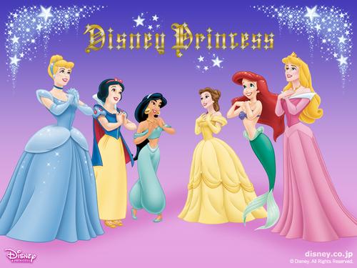 Disney Princess fond d'écran