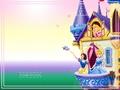 Disney Princess karatasi la kupamba ukuta