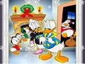 Donald Duck Christmas Wallpaper - donald-duck wallpaper