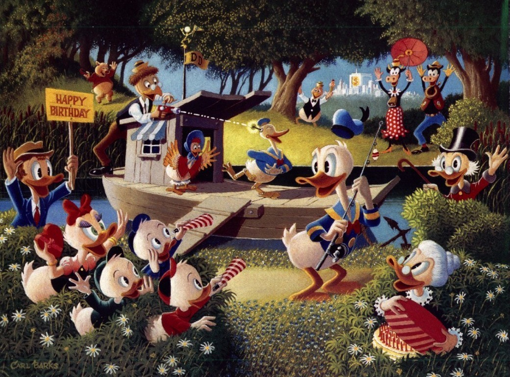 Donald Duck's Birthday Surprise